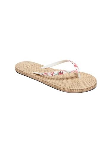 Roxy Plaj Terliği Beyaz